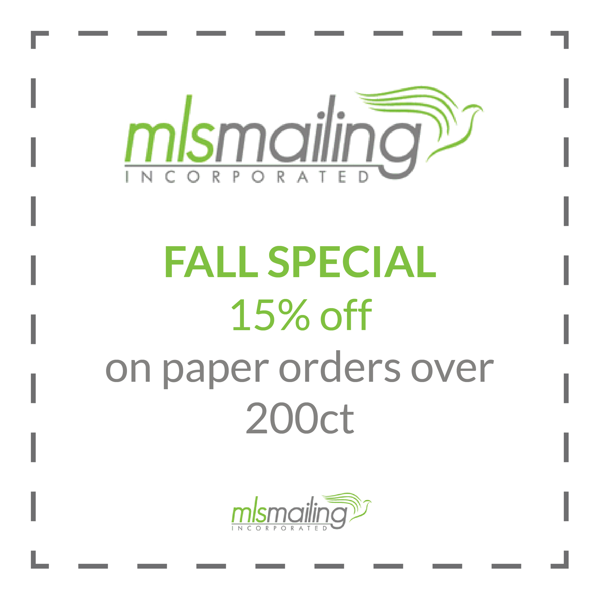 Printing Mailing Promotions Huntley Crystal Lake Algonquin Woodstock Il Mls Mailing